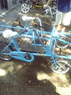 働く自転車