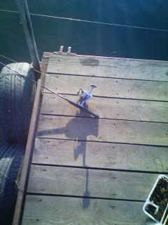 釣りをしてる自分