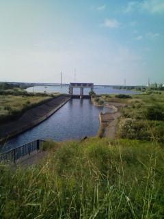 荒川第一調整池水門