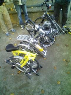 大折り畳み自転車大会